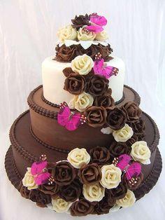 Torte nuziali artistiche e creative:tante idee per avere la torta nuziale dei vostri sogni (Foto) - Dolci