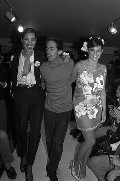 Christy Turlington et Marc Jacobs, 1988