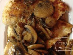 Chicken Marsala | 25+ freezer meal ideas