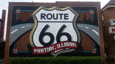 Old Route 66 Wall Art