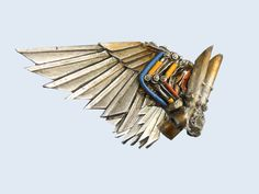 Eldar Autarch Conversion >>Swooping Hawk Wings Advice/help? - Forum - DakkaDakka   Ask not what Dakka can do for you...