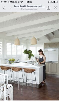 Beachy Kitchen Coastal Kitchen Kitchen Decor Kitchen Dining Kitchen