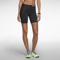 "The Nike 7"" Pro Core Compression Women's Shorts."