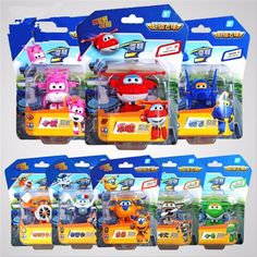 2016 8pcs Super Wings toys Mini Planes Model Transformation robot Deformation Airplane Robot Boys Christmas Birthday Gift #>=#>=#>=#>=#> Click on the pin to check out discount price, color, size, shipping, etc. Save and like it!