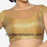 Readymade Gold Net Blouse