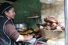 Las sabrosas chugchucaras de Latacunga. Cotopaxi Ecuador.