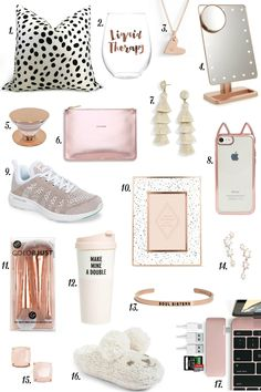 Shop Christmas gifts for every gal on your list without spending all of your money with this gift guide under $50 from lifestyle blogger Mash Elle.