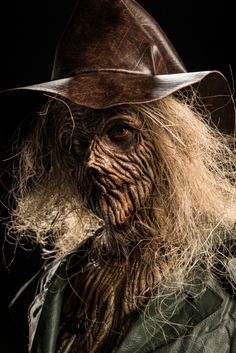 My brother, Matt Wood, is a model on SyFy's Face Off! Here he is made up by contestant Eddie as a Scarecrow. Awesome job!  Photo credit: Brett-Patrick Jenkins