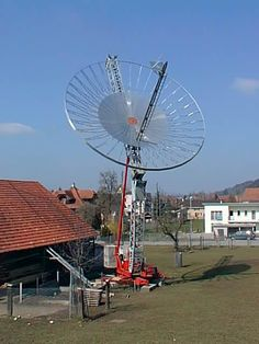 EME Moonbounce Antenna for bouncing radio signals off the moon and back to earth up to 12,000 miles away!