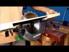 Mesa para Inversão da serra circular manual, simples e facil - YouTube