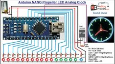 In this video you will see the Arduino UNO Propeller LED Analog Clock using Arduino UNO, Hall Sensor, magnet, LEDs and Resistors. Electronics Projects, Hobby Electronics, Electronics Gadgets, Esp8266 Arduino, Arduino Radio, Arduino Stepper, Radios, Ipod Touch, Electronic Gifts For Men
