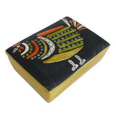 Ceramic Chicken Box by Raymor, $395