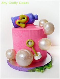 Bubbles cake.