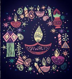 Happy Diwali Cards, Happy Diwali Images, Diwali Greetings, Diwali Gifts, Diwali Painting, Hindu Festival Of Lights, Diwali Wishes Quotes, Diwali Poster, Happy Evening