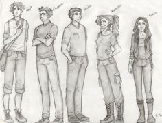 My sketch of the Maze Runner characters since i finnished the trilogy this week! ON TUMBLR:ritta1310.tumblr.com/post/1027…