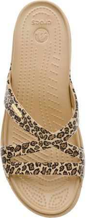 Crocs Patricia ii Leopard Print. What! Crocs that are cute! Life is too short for ugly shoes.