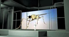 GIANT INSECT EFFECT: A giant mosquito, as visualised by the designer