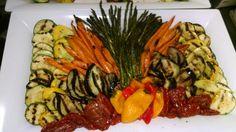 Grill veggy platter