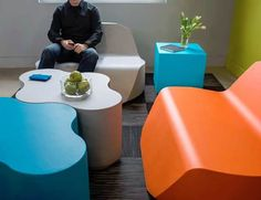 Feek Fundamentals Foam Office Seating - Lobby and Lounge,