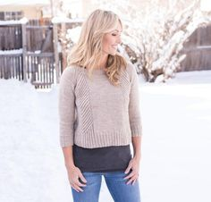 Knitters are swooning for the Messaline Sweater! You'll create your own boxy, beautiful boatneck sweater using this kit that includes a pattern and Cloudborn Highland Fingering yarn. Featuring unique cable paneling and flattering construction, your new piece is sure to become a wardrobe favorite.