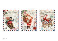 Paulo Viveiros: Vintage Montage Ephemera Christmas Designs
