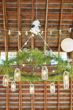 Romantic Barn Wedding Decorations ❤ See more: http://www.weddingforward.com/barn-wedding-decorations/ #weddings