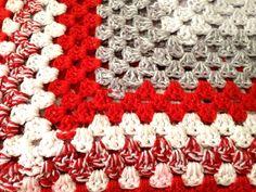Vintage Crochet Blanket:  www.cloth-ears.co.uk blog post: Vintage Finds In Margate