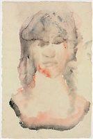 Face Scape 4 by Leiko Ikemura