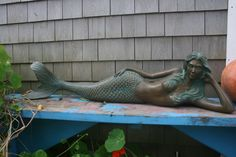 Mermaid reclining