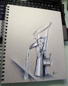 水龍頭 design sketch