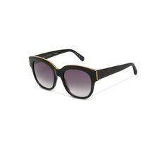 2b4c2f5ca9d3a  Black Oversized Square Sunglasses