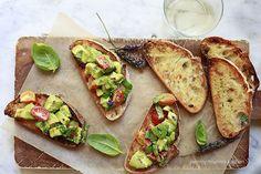 bruschetta avocado toast