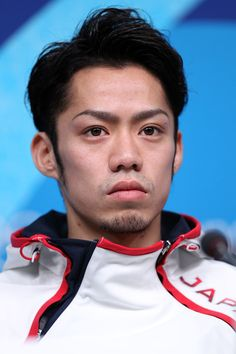 Daisuke Takahashi Photos Photos - Figure skater Daisuke Takahashi of Japan attends a press conference ahead of the Vancouver 2010 Winter Olympics on February 10, 2010 in Vancouver, Canada. - Olympic Preview - Day -2