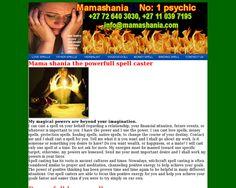 mamashania.co.za- spiritual herbalist