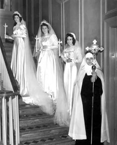 Nuns On Their Wedding Day To