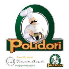 Polidori pastas: recreación en 3D de logo y mascota. Jm Productions, Tape, 3d, Studio, Pets, Studios, Study