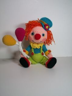 clown amigurumi | Flickr - Photo Sharing!