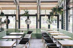 Интерьер кафе-пекарни «Булка» от архитекторов Crosby Studios