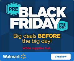 Walmart: Pre Black Friday Prices Deals Are Live! - This Mommy Saves Money Walmart Black Friday Deals, Black Friday Deals Online, Pre Black Friday Sales, Walmart Deals, Online Deals, Free Printable Coupons, Big Day, Saving Money, Shop Now