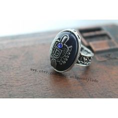 Vampire Diaries - Damon Salvatore's daylight ring by uniquestyledo ❤ liked on Polyvore featuring jewelry and vampire diaries