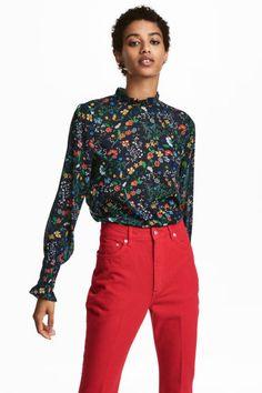 Resultado de imagen para blusas de gasa elegantes para señoras