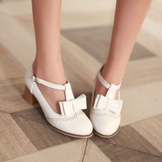 Heels: approx 5 cm Platform: approx - cm Color: Pink, White Size: US 3, 4, 5, 6, 7, 8, 9, 10, 11, 12 (All Measurement In Cm And Please Note 1cm=0.39inch) Note:Use Size Us 5 As Measurement Standard, Er