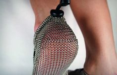 Chainmail running shoes