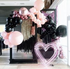 Balloon Backdrop, Balloon Columns, Balloon Garland, Balloon Decorations, Birthday Party Decorations, Birthday Parties, Themed Parties, Balloons Galore, Birthday Goals