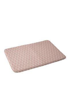 Khristian A Howell Nina In Pink Memory Foam Bath Mat | DENY Designs Home Accessories