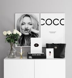 Kate Moss life is a joke Poster