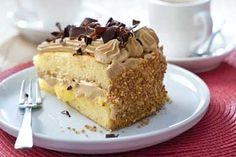 Een echte klassieker, dit recept voor Hollandse mokkataart! Dutch Recipes, The Dish, Cupcake Cakes, Cupcakes, Food Cakes, Vanilla Cake, Cake Recipes, Biscuits, Food And Drink