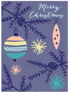 Illustration Christmas print & pattern: XMAS 2013 - rosehip