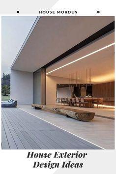 - 58 Stunning Modern Dream House Exterior Design Ideas ⋆ newport-internati… – f - Glass House Design, Modern House Design, Dream Home Design, Home Interior Design, Modern Architecture House, Architecture Design, Amazing Architecture, Dream House Exterior, Design Hotel