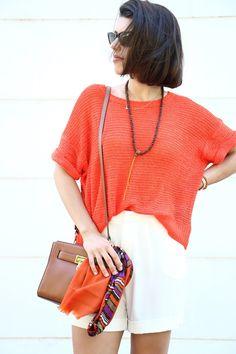 I love Fita Métrica: Orange